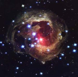 hs-2005-02-b-web Red supergiant star V838 Monocerotis